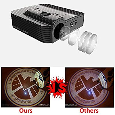 Personalize Customization Car Door Projector Shadow Ghost HD LED Logo Lights: Automotive