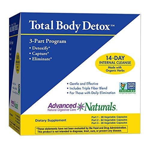 Comprehensive Cleansing Program Kit - Advanced Naturals Total Body Detox, 3-Part Kit, 14 Day Program