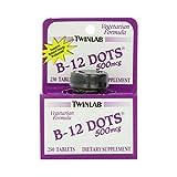 Twinlab B-12 Dots Vitamin B-12, 500mcg, 250 Tablets Review
