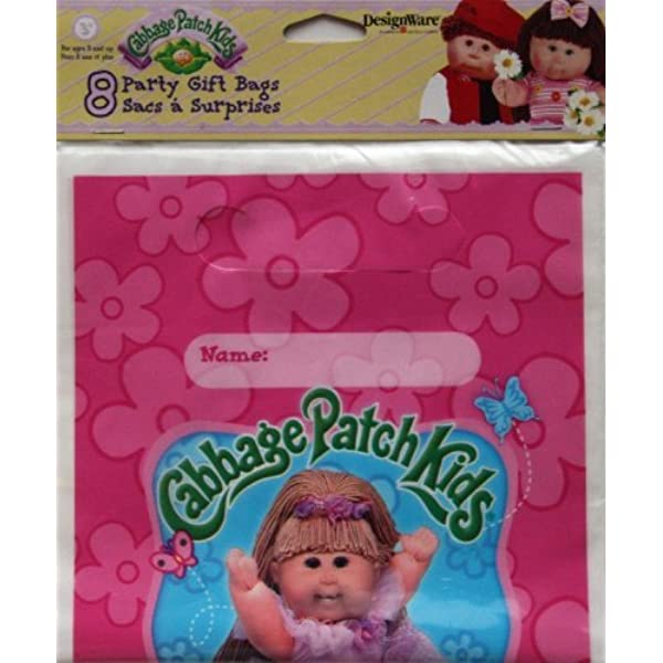 Cabbage Patch Themed Party Birthday Cups Plastic New