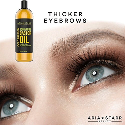 Aria Starr Castor Oil Cold Pressed - 16 FL OZ - BEST 100% ...