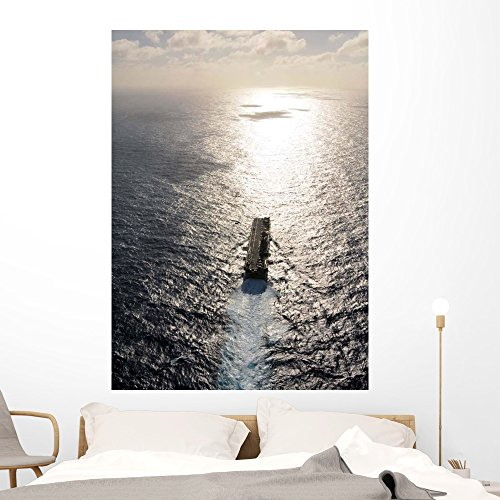 Amphibious Assault Ship Uss Wall Mural by Wallmonkeys Peel and Stick Graphic (60 in H x 43 in W) WM54584 ()