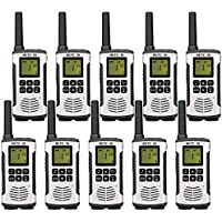 Retevis RT45 Walkie Talkies Hands Free 22 Channel Private Codes VOX Scan License-Free Rechargeable Two way radio (10 Pack)