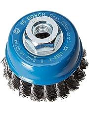 Bosch Professional 2608622099 Koppborste för Vinkelslipare, Silver/Blå, 75 mm