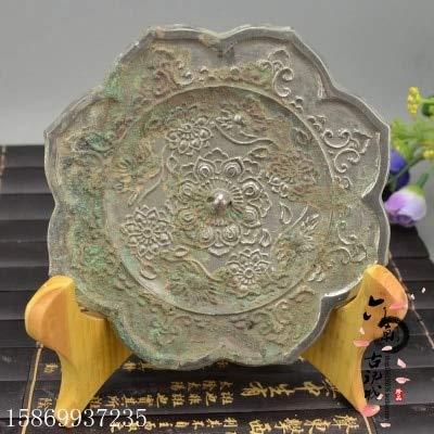 (ZAMTAC Ancient Bronze Warring States and Han Dynasty Bronze Mirror (Octagonal Sunflower))