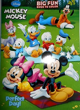 Amazon.com: Disney Mickey Mouse Coloring Book - \