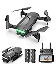 $34 » Drones with Camera 720P HD - Foldable WiFi FPV RC Quadcopter w/Gesture Control, Trajectory Flight, 3 Speed Mode, Follow Me Mode, Compatible w/VR Headset, Family