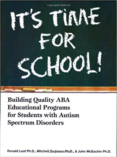 Its time for school building quality aba educational programs for building quality aba educational programs for students with autism spectrum disorders 16288th edition fandeluxe Gallery