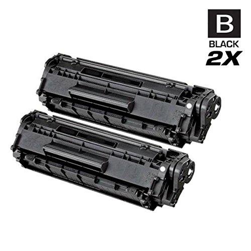 (AZ Compatible with Canon 104 (0263B001AA) 2 Black Toner Cartridge for Fax L90, L100, L140, L160, L110; Faxphone L120; imageCLASS MF4150, D420, D480, MF6570, 4270, 4350, 4350D, 4370DN, MF4690, MF4320)
