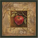 Italian Decor Apple Kitchen Bella Decor Print Framed