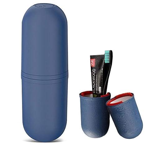 Juego de vasos de viaje, OCHO8 vasos creativos para cepillo y pasta de dientes,
