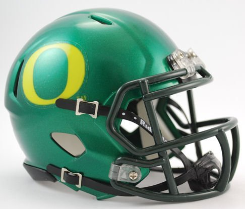 NCAA Oregon Ducks Speed Mini Helmet (Oregon Ducks Football Helmet)