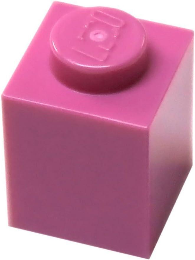 LEGO Parts and Pieces: Dark Pink (Bright Purple) 1x1 Brick x50