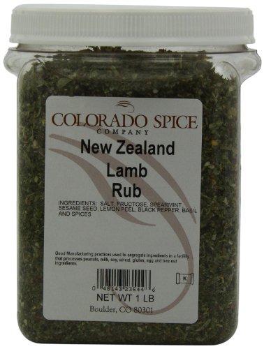 Colorado Spice New Zealand Lamb Rub, 1 lb