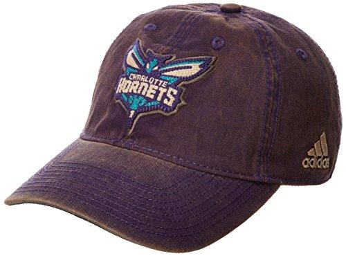s Men's Raised Chain Stitch Adjustable Slouch Hat, Purple, One Size ()