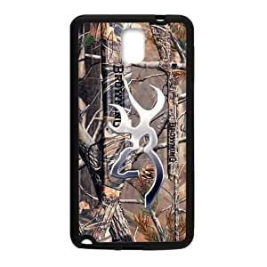 JDSitem Realtrees Real Tree Camo Design Browning Cutter Case Cover Sleeve Protector for Phone Samsung Galaxy Note 3 (Laser Technology)