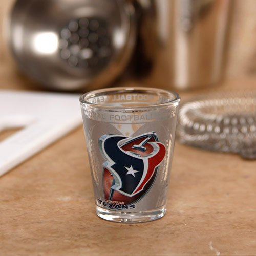 Houston Texans 2oz. Enhanced Hi-Def Shot Glass