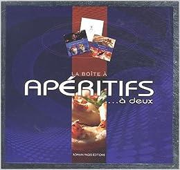 La boîte à apéritifs... à deux : 3 volumes, by Emmanuelle Andrieu Yvan Cadiou