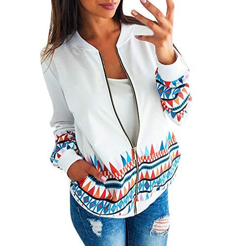 RDTIAN Women Sweartshirt Long Sleeve Baseball Uniform Jacket Coat Blouse (Uniform Sleeveless Baseball)