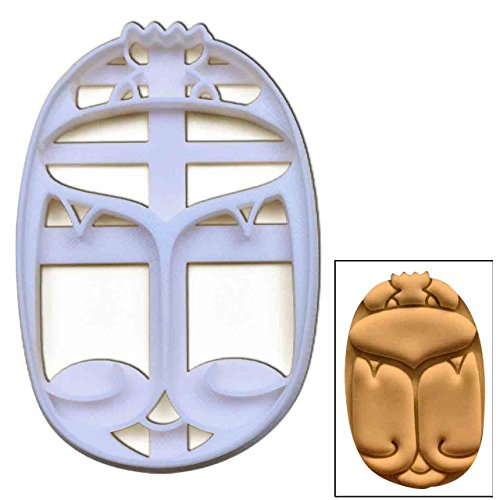 Scarab Beetle cookie cutter, 1 pc, Ideal for ancient Egyptian themed party -