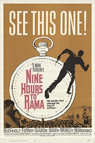Nine Hours to Rama 1963 Authentic 27