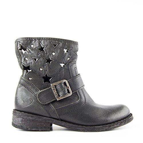 Felmini - Zapatos para Mujer - Enamorarse con Gredo 8347 - Botines - Cuero Genuino - Negro