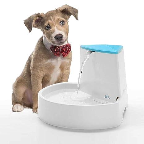 Ydq Fuente De Agua Gatos Y Perros Dispensador De Agua AutomáTico para Mascotas Bebedero Silencioso 2.5