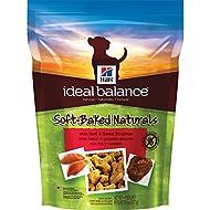 Hill's Ideal Balance Grain Free Dog Treats, Soft-Baked Naturals with Beef & Sweet Potatoes Soft Dog Treats, Healthy Dog Treats, 8 oz Bag