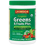Lindberg Organic Greens & Fruits Plus, 9.5 Ounces Review
