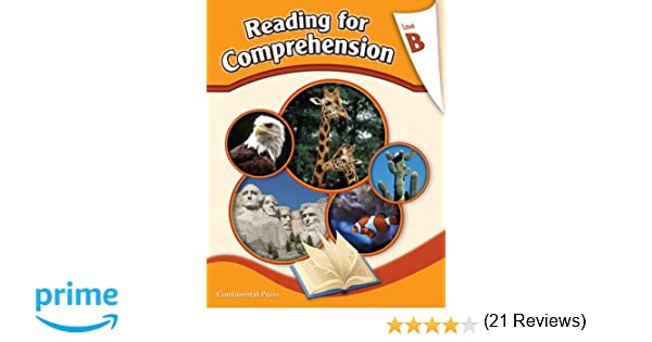 Reading Comprehension Workbook: Reading for Comprehension, Level B ...