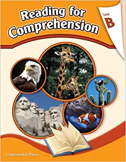 Reading Comprehension Workbook Reading For Comprehension Level B