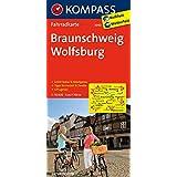 Braunschweig - Wolfsburg: Fahrradkarte. GPS-genau. 1:70000 (KOMPASS-Fahrradkarten Deutschland, Band 3040)