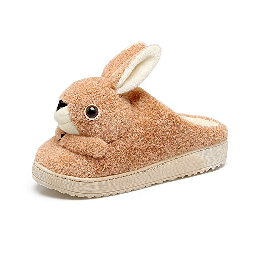 pantofole 235 scarpe montare 35 piedi donne l'albicocca antiscivolo Home 34 Y Hui cotone pantofole d'inverno 7Xn0zqA
