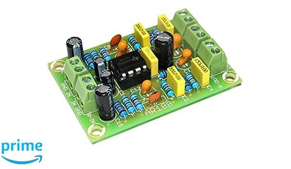 ArliKits ar188 m RIAA Stereo Preamplificador para Tocadiscos ...