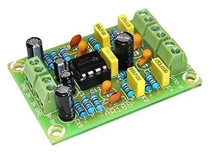 ArliKits ar188 RIAA Stereo Preamplificador para Tocadiscos Montar ...