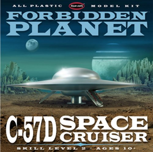 Polar Lights Forbidden Planet C-57D Starcruiser 1/144 Scale Plastic Model Building (144 Scale Plastic Kit)