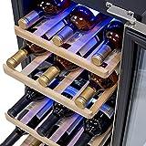 NewAir AWR-290DB Wine Cooler, 29 Bottle, Stainless