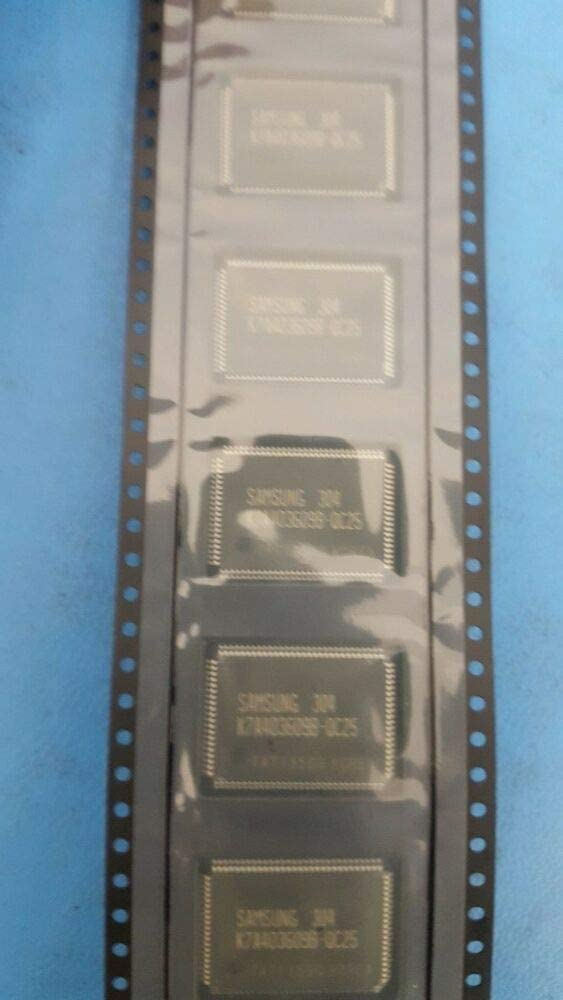 PQFP100 BB Compatible with Samsung IC K7A403609B-QC25 2.4NS 128KX36 Cache SRAM