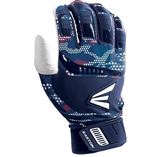 Easton Walk-Off Fast Pitch Batting Glove, Youth, Small, STARS & STRIPS
