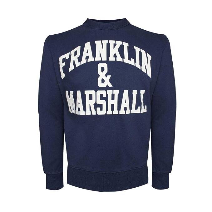 Franklin & Marshall Sudadera Navy Felpe