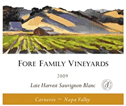 2009 Fore Family Vineyards Napa Carneros Late Harvest Sauvignon Blanc 375 mL