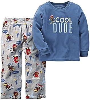 Carters Toddler Boy Fleece Pajama Set