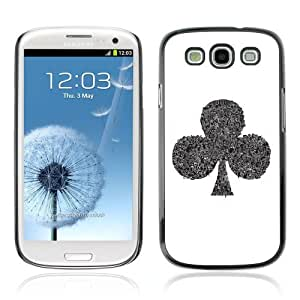 Designer Depo Hard Protection Case for Samsung Galaxy S3 / Cool Spade