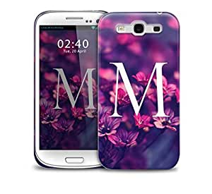 letter m Samsung Galaxy S3 GS3 protective phone case