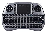 iPazzPort Wireless Mini Keyboard and Touchpad Mouse Combo for Raspberry Pi 3/XBMC/Android and Google Smart TV Box KP-810-21S, Space Grey Review