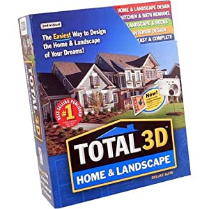 Individual prx hl9 total 3d home and landscape - Total 3d home and landscape design suite ...