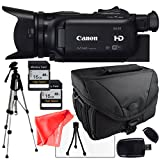 Canon XA25 Camcorder with Camcorder case, Two 16GB SDHC Class 10 Memory CardsTable Top tripod, USB Sd Card Reader, LCD Screen Protector and Lens Cleaning Kit