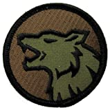Wolf Head Morale Patch (WOODLAND (Forest))