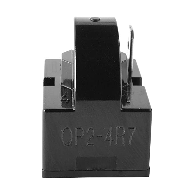 QP2-4.7 Relé de arranque para refrigerador Vissani Emerson Haier ...