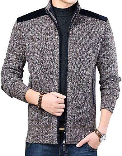 カーディガン メンズ セーター ニット ジャケット ジップアップ 無地 カジュアル コート 軽量 暖かい 大きいサイズ M-3XL 春 秋 冬
